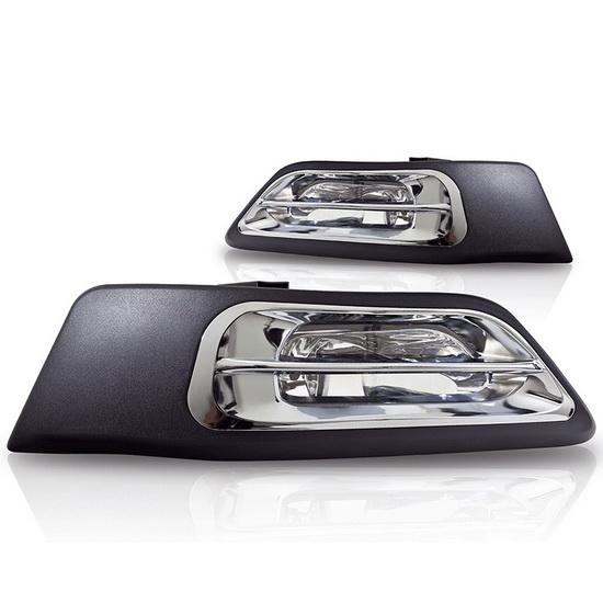2002-2004 HONDA CRV OEM Style Clear Lens Fog Lights Fog Lamps