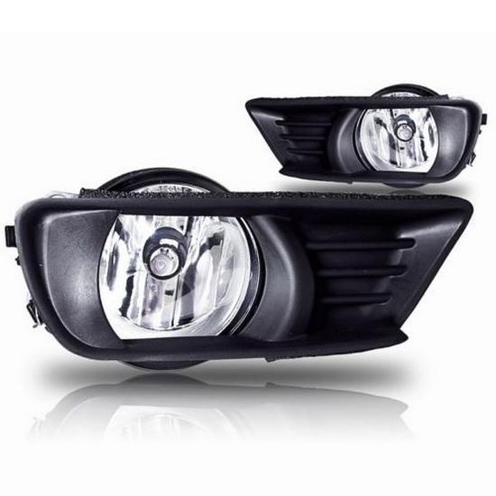 2007-2009 TOYOTA CAMRY OEM Style Clear Lens Fog Lights Fog Lamps