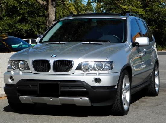 2003-2006 BMW E53 X5 SERIES OEM Style Clear Lens Fog Lights Fog Lamps