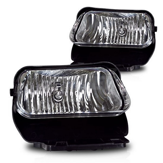2002-2006 chevy avalanche <br / / // // / / //> 2003-2007 CHEVY SILVERADO  OEM Style Clear Lens Fog Lights  Fog Lamps