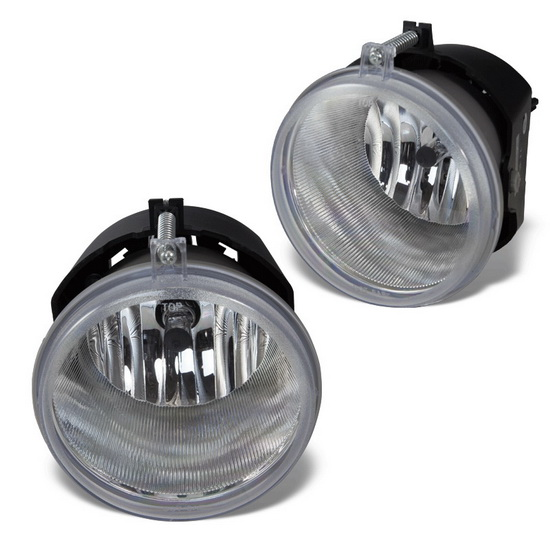 2005-2009 DODGE DURANGO OEM Style Clear Lens Fog Lights Fog Lamps