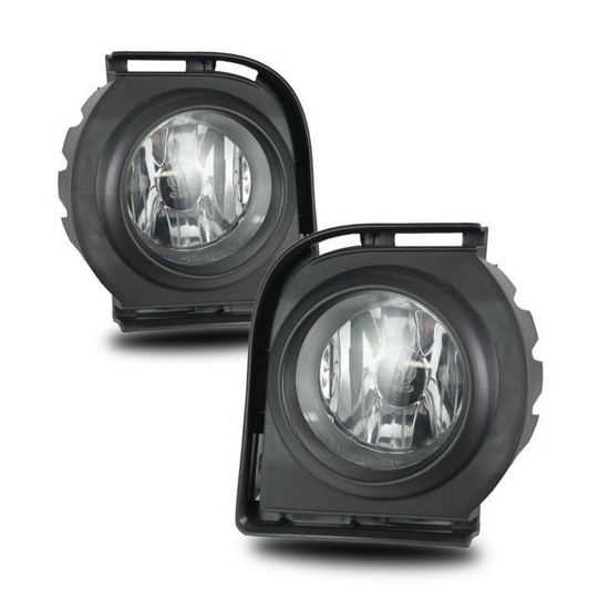 WJ30 0305 09 01 08 10 scion xb clear housing oem style fog lights Scion XD Interior Lights at bakdesigns.co
