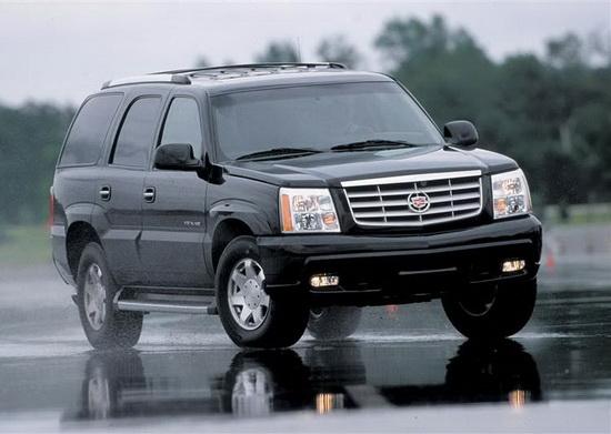 2002-2006 Cadillac ESCALADE Clear Housing Fog Lights