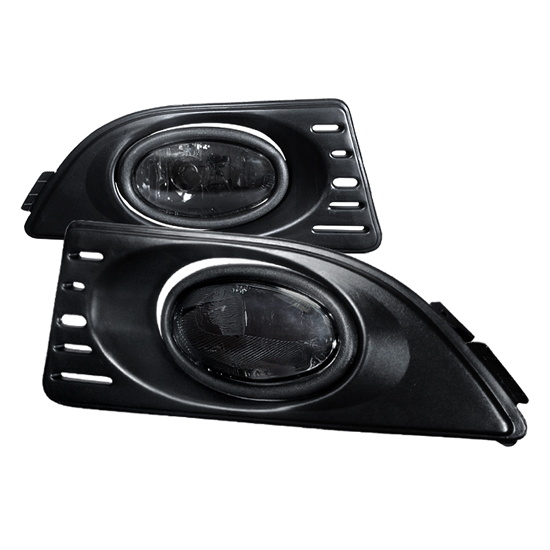 Spec-D 2006 Acura RSX Euro Smoke Housing OEM Style Fog Lights