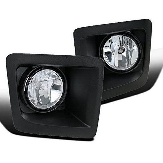 2014-2016 GMC Sierra Clear Lens Fog Lights