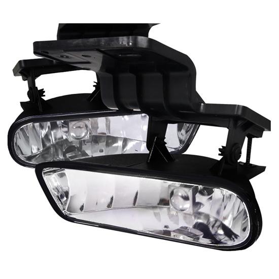 99-02 Chevrolet Silverado Clear Fog Lights