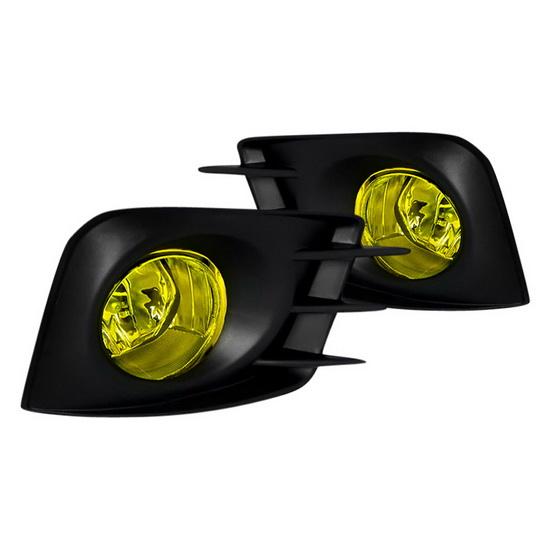 2011-2013 Scion TC Yellow Lens Fog Lights