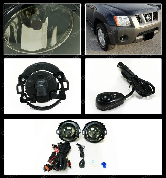 06 Nissan Xterra Smoke Fog Lights