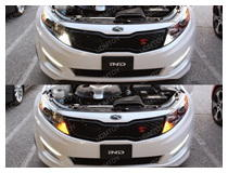 Kia Optima Switchback LED Front Turn Signal Lights