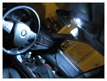 Car LED Interior Lights Installation