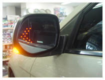 Install LED Arrow Light For Side Mirror