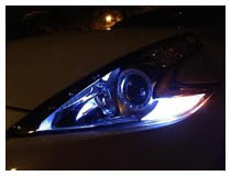LED Parking Lights Installation