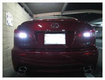 LED Backup Lights Installation for Lexus IS