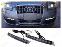How to Install Universal LED DRL on Audi A6