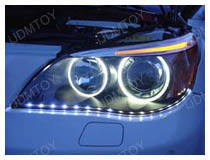 Audi Style LED Strip Lights Installation (Base on a BMW E60 M5)