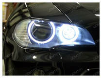 BMW H8 LED Angel Eyes Installation (apply for 75-007, 75-015, 75-032)