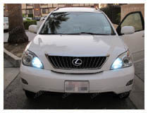 R1 9005 LED High Beam Daytime Light Installation