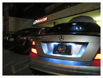 How to Install LED License Plate Lights on Mercedes-Benz C-Class