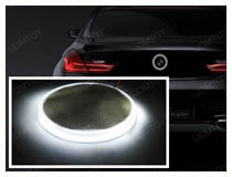 Install BMW Emblem Background Lights