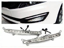 Kia Optima OEM Fit LED Daytime Running Lights Installation (For 70-732)