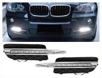 BMW or Mercedes OEM Fit LED Daytime Running Lights Wiring (For 70-733, 70-734, 70-735, 70-713, 70-720, 70-704, 70-705)
