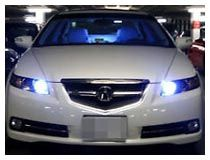 High Beam LED daytime running lights
