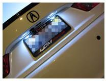 Mercedes-Benz LED License Plate Lights