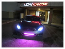 Land Rover Lincoln FIAT Smart MINI Hummer Buick LED Scanner Light, LED Knight Rider Kit