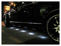 Mitsubishi LED Underbody Light, LED Under Car Kit
