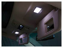 Lexus LED Vanity Mirror Lights