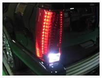Porsche LED backup reverse lights