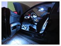 Car LED interior lights