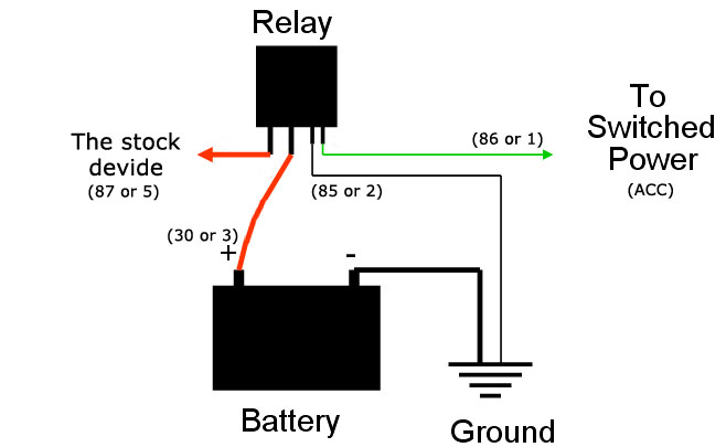 micro relay wiring diagram