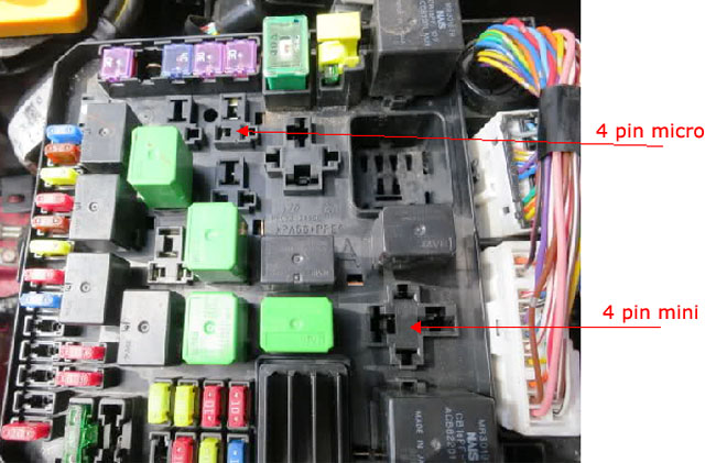 how to find acc 12v switched power from the fuse box
