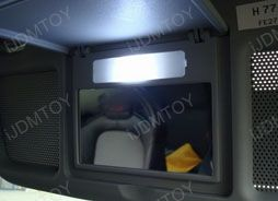 Installation DIY Guide for LED Vanity Mirror Lights (Sun Visor Lights)